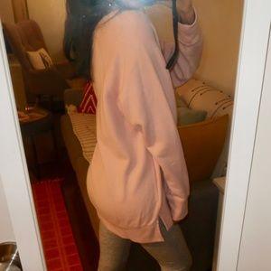 VS Pink Legging Sweater (XS) (Pink & Sage Green)